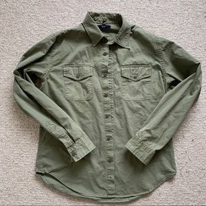 Gap heavy cotton cloth utility shirt